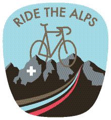 Logo Ride the Alps