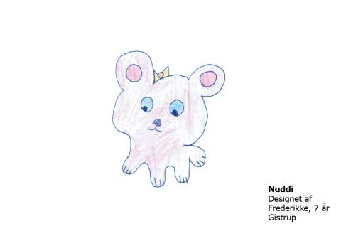 Frederikke 7 år Nuddi