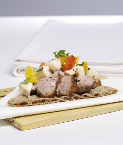 Bagarnas bästa - Havreknäcke med kryddstekt lamm