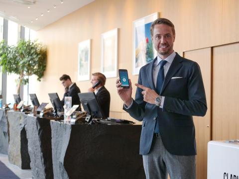 """Clarion Hotel Sign integrerar """"Hotel Room Chooser"""" som en del av framtidens hotellupplevelse -  välj ditt eget rum före ankomst"""