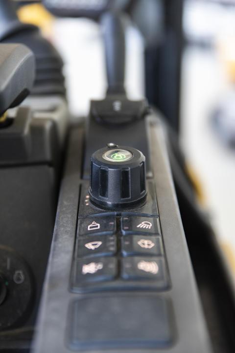 Jog dial, minigrävare, Next generation
