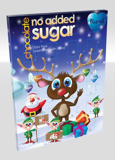 Mjölk- och sockerfri julkalender