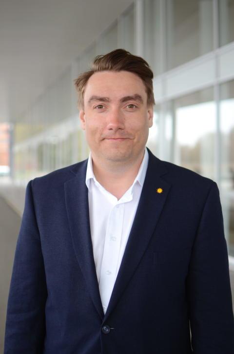 Erik Nilsson (KD), ordförande i stadsbyggnadsnämnden