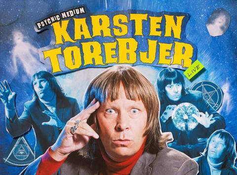 """Biljettrusning till """"Karsten Torebjer — Psychic Medium"""", extra föreställning sätts in i Stockholm."""