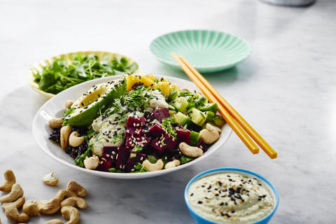 CocoVi Vegetarisk Pokebowl