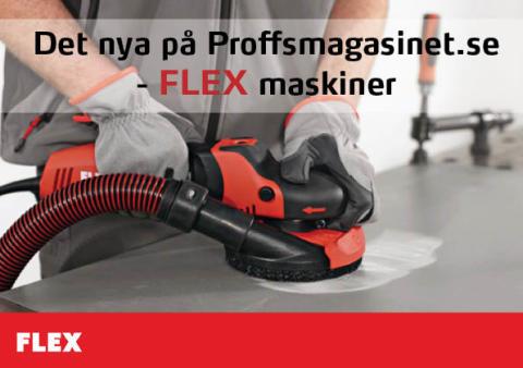 Det nya på Proffsmagasinet.se - FLEX maskiner