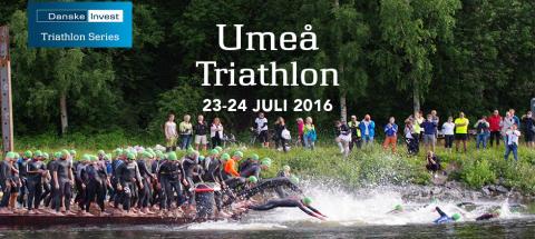 Umeå Triathlon – med SM på olympisk distans
