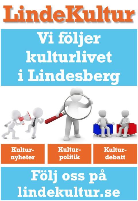LindeKultur: Affisch för marknadsföring