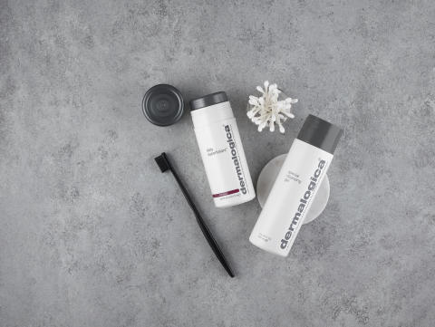 Daily Superfoliant and Special Cleansing Gel Flat Lay 1
