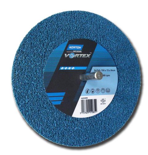 Norton Vortex Rapid Finish spindelmontert overflatbehandlingsrondell produkt_2