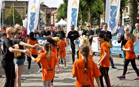 GKN sponsrar Klassjoggen – en festlig skolstart för att stimulera rörelse bland unga
