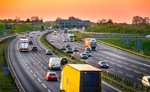 68% of drivers say removing hard shoulders on motorways compromises safety