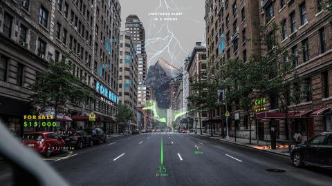Hyundai inleder utveckling av holografisk AR-navigation med investering i WayRay