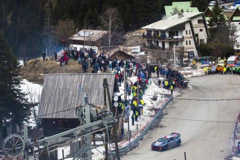 Stark avslutning för Hyundai Motorsport i ett händelserikt Rallye Monte-Carlo