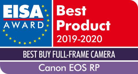 EISA Award Canon EOS RP - JPEG
