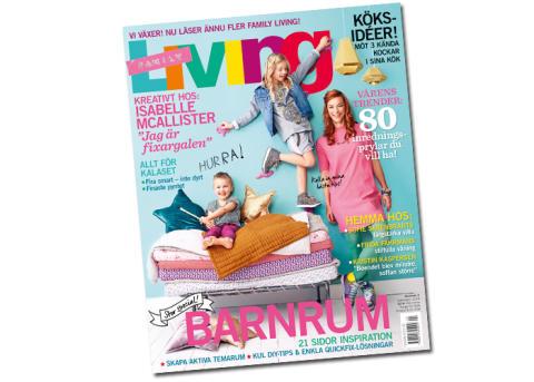 Family Living ökar mest bland inredningstidningarna