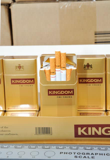 LON 11/14 Three arrested on suspicion of tobacco smuggling 6