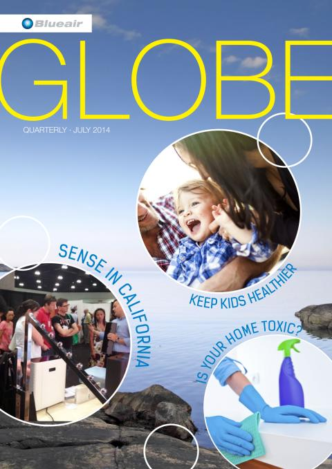 Blueair Globe Magazine Explores Indoor Air Quality Issues