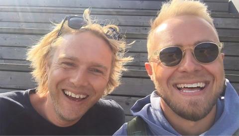 Felix og Falktoft er klar til Tinderbox