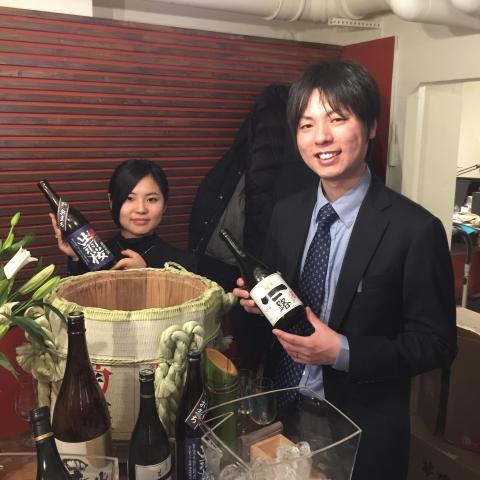 Akari och Shotari från Dewazakura Brewery