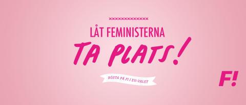 Pressinbjudan: Välkommen på Feministiskt initiativs valvaka i Stockholm
