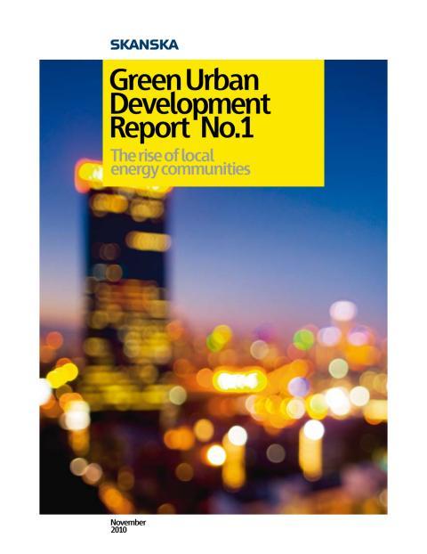 Green Urban  Development Report No.1