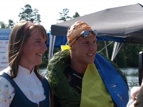Anton Björck-Teuscher vann Vansbrosimningen