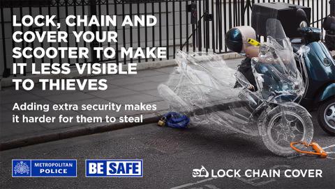Bike owners urged to 'lock, chain, cover'