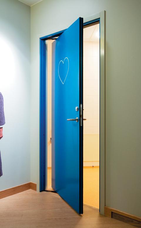 Unik dörr ger stora utrymmesbesparingar