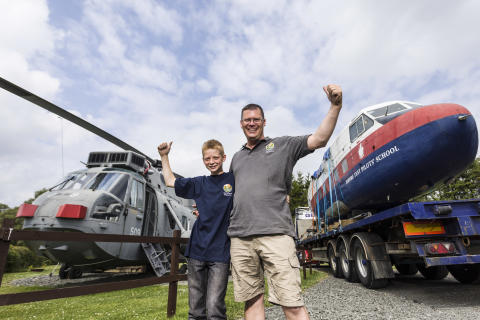 Buckle up for Scotland's first glamping plane