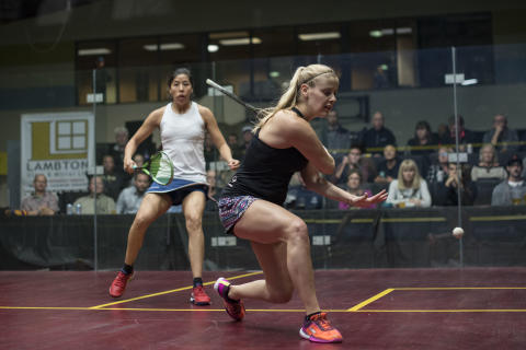 Salming Canada Signs Canadian Squash Sweetheart Nikole Todd