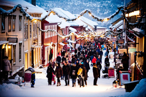 the 5 best christmas markets in norway visitnorway. Black Bedroom Furniture Sets. Home Design Ideas