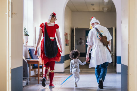 Kongelig fond tilgodeser Danske Hospitalsklovne
