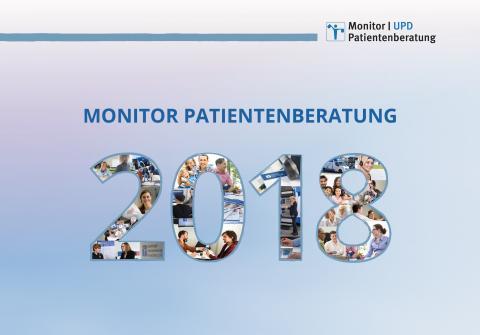 """Mit mehr Transparenz zu mehr Patientenorientierung Vorstellung des """"Monitor Patientenberatung 2018"""""""