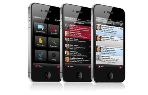 Projectplace for iPhone – Uppdaterad med nya sociala funktioner för projektsamarbete