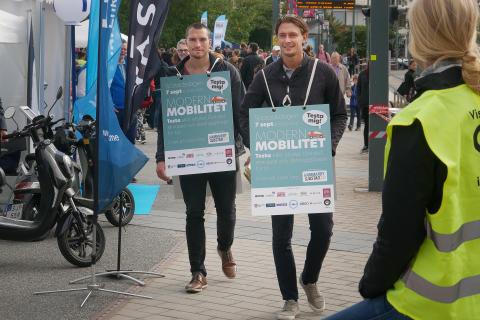 Modern Mobilitet i Hammarby Sjöstad