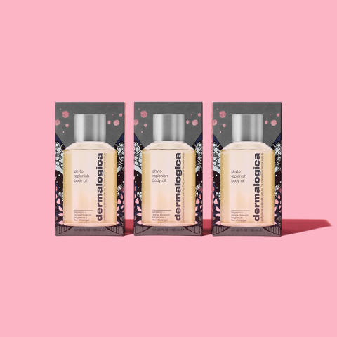 Phyto Replenish Body Oil Boxes GIF