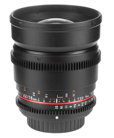 Samyang 16mm V-DSLR T2,2 web