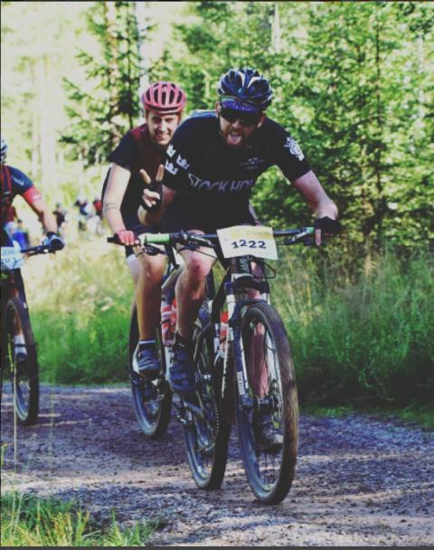 Christoffer Stenbeck på Cykelvasan 2016