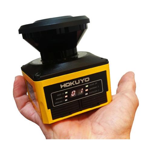 Världens minsta laserscanner för maskinsäkerhet