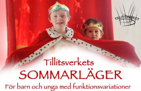 Tillitsverkets sommarläger - För barn och unga med funktionsvariationer