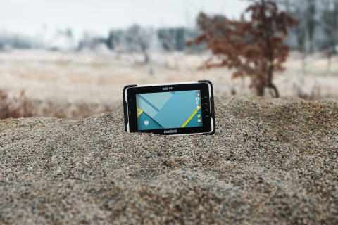 The ALGIZ RT7 ultra-rugged Android tablet is dust proof