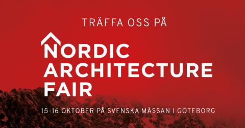 Schüco till Nordic Architecture Fair 2019