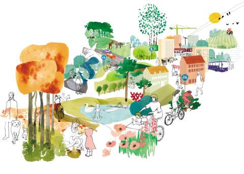 Så skapar vi plats för barnen i framtidens städer - konferensen ställs in!