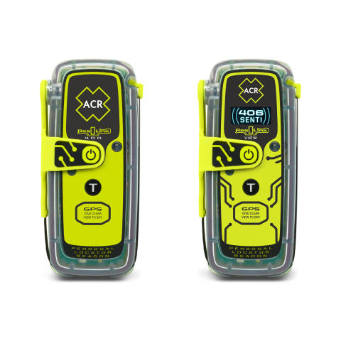 Hi-res image - ACR Electronics - ACR Electronics ResQLink 400 and ResQLink View Personal Locator Beacon (PLB)