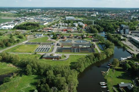 Pressinbjudan - invigning av Sveriges första fullskaliga rening av läkemedelsrester i avloppsvatten i Linköping