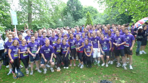 """Running all over the world"" Global recruiters, Hydrogen Group, now take on London's JP Morgan Corporate Challenge"