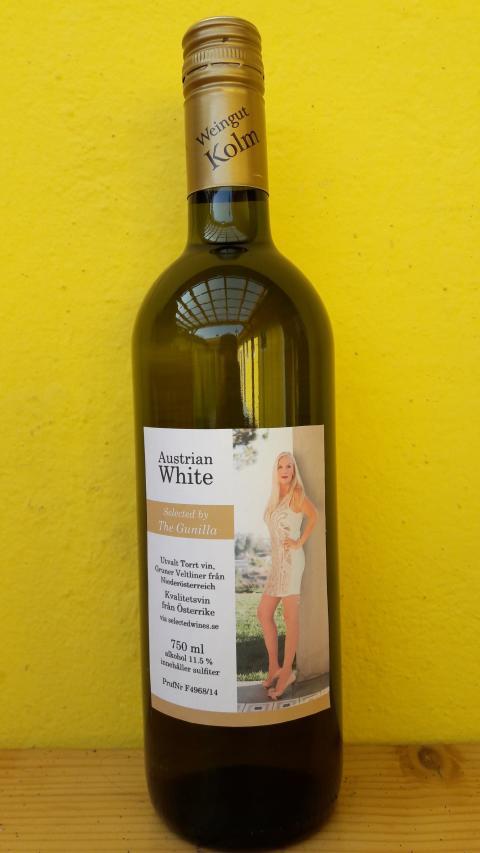Vitt vin av Gunilla Persson