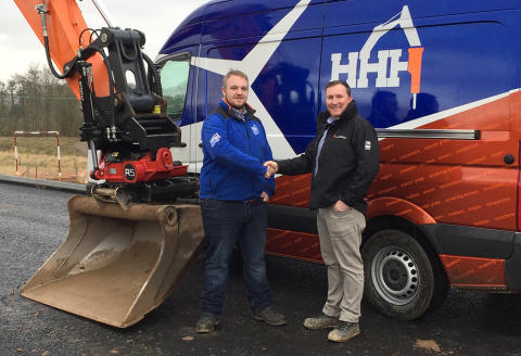 New Rototilt® dealer in Scotland