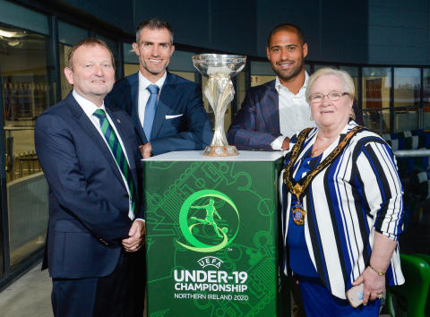 Launch of 2020 UEFA European Under-19 Championship